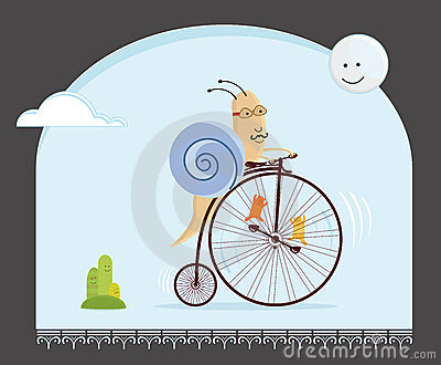 Biker snail