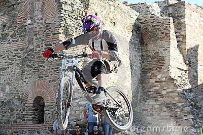 Bikers competition Editorial Image