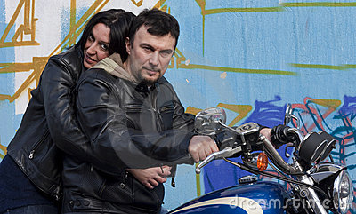 Bikers Couple