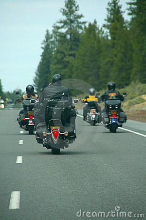 Bikers - motorcycles & leather