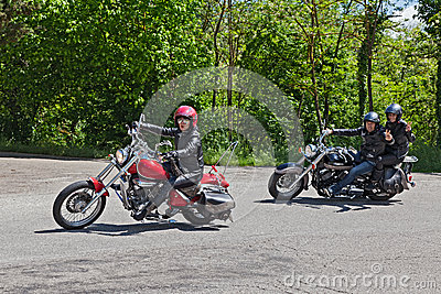 Bikers Editorial Photo