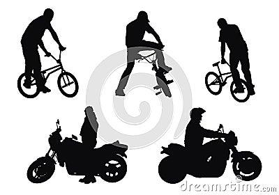 Bikers vs motorcyclists