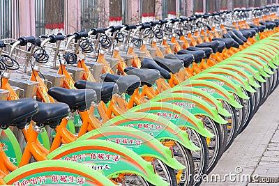 Bikes Editorial Photo