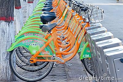 Bikes Editorial Image