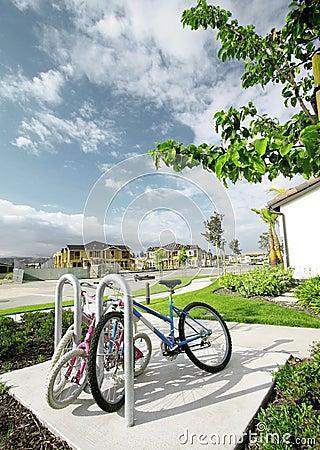 Bikes In Neighborhood
