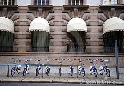 Bikes. Oslo, Norway.
