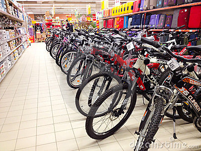 Bikes for sale Editorial Photography