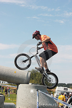 Biketrial Czech Championship Editorial Stock Photo