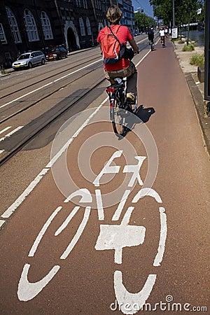 Free Biking In The City Stock Photo - 871030