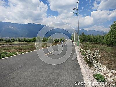 Biking on the Open Road