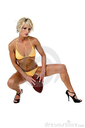 Bikini Blond Football