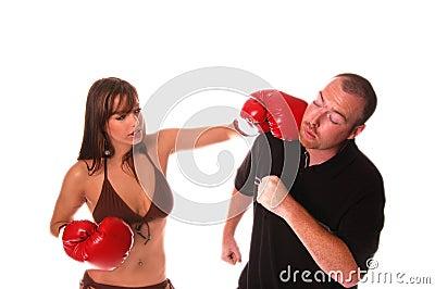 Bikini Boxer Knockout