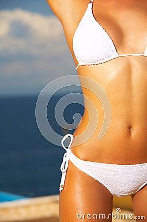 Bikini dans l action
