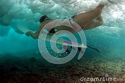 Bikini Duck Dive
