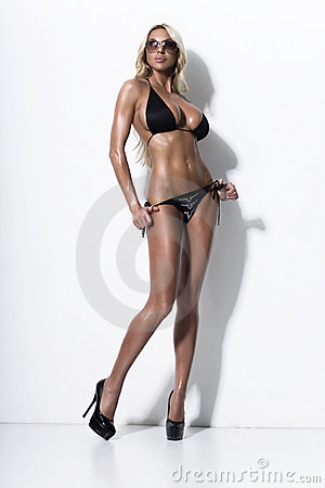 Free Bikini Fashion Model Stock Images - 14380184