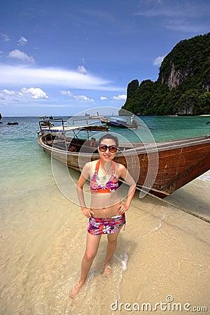Free Bikini Girl Royalty Free Stock Images - 10723739