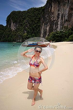 Free Bikini Girl Stock Photos - 10723823