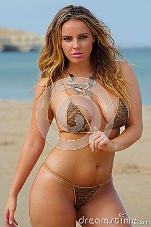 Free Bikini Girl Stock Images - 14195874