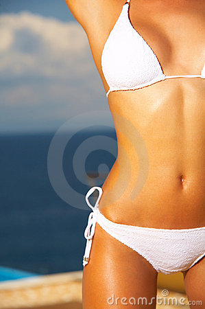Free Bikini In Action Stock Images - 2486244