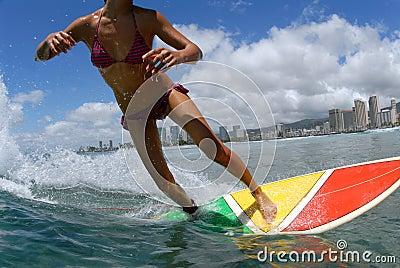 Bikini Surfer Girl
