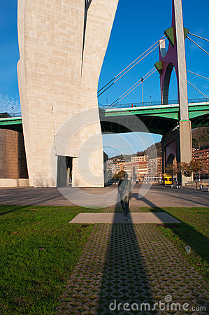 Bilbao, province of Biscay, Basque Country, Spain, Northern Spain, Iberian Peninsula, Europe Editorial Stock Image
