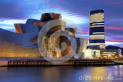 Bilbao, Spain Editorial Stock Image