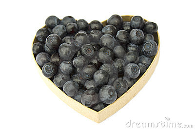 Bilberry heart