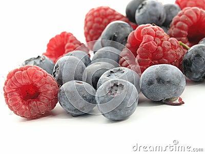 Bilberry and Raspberry