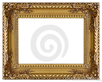 bilderrahmen mit einem dekorativen muster stockbild bild 6158021. Black Bedroom Furniture Sets. Home Design Ideas