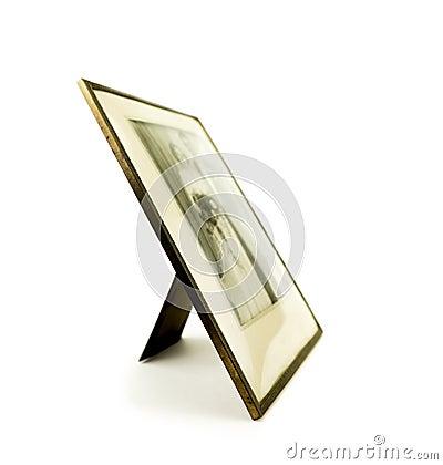 bilderrahmen mit hochzeitsfoto stockbilder bild 36896474. Black Bedroom Furniture Sets. Home Design Ideas