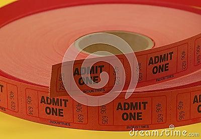 Bilhetes da admissão