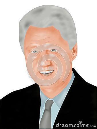 Bill Clinton Editorial Image