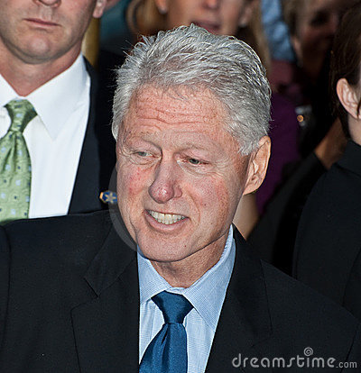 Bill Clinton Editorial Image
