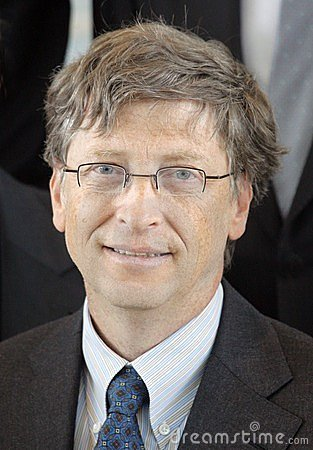 Bill Gates Editorial Stock Photo