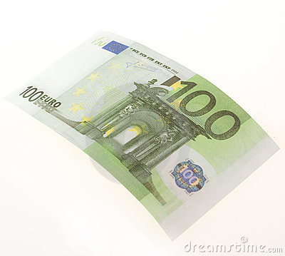 Bill of hundred euros