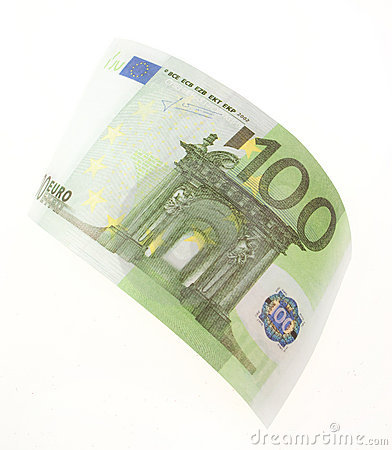 Bill hundred euros