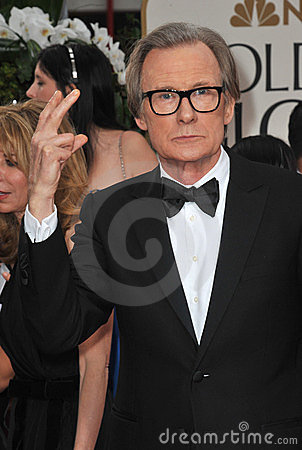 Bill Nighy Imagem Editorial
