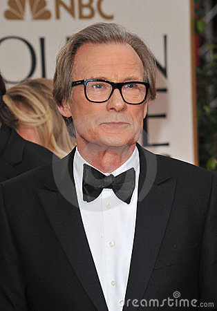 Bill Nighy Fotografia Editoriale