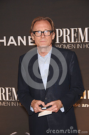 Bill Nighy Editorial Stock Photo