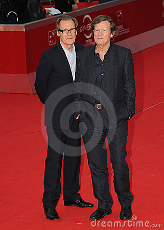 Bill Nighy, David Hare Fotografia Editoriale