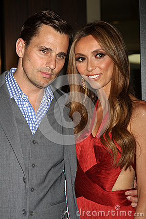 Bill Rancic, Giuliana Rancic arrives at the 37th Annual Gracie Awards Gala Editorial Photography