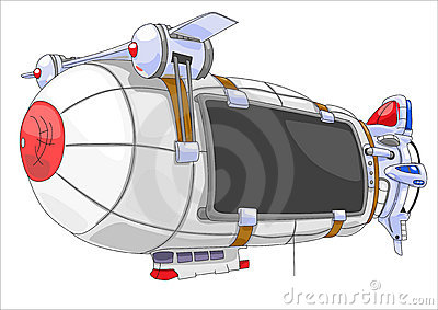 Billboard airship.