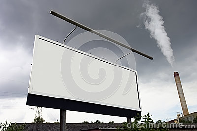 Billboard on the street