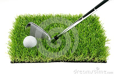 Bille et club de golf