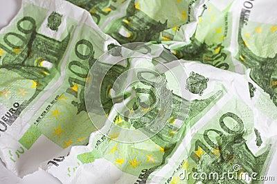 Billete de banco euro