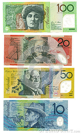 Billetes de banco australianos