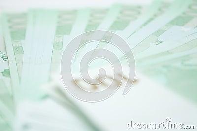 100 billets de banque d euros