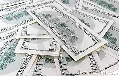 100 billets de banque de dollars US