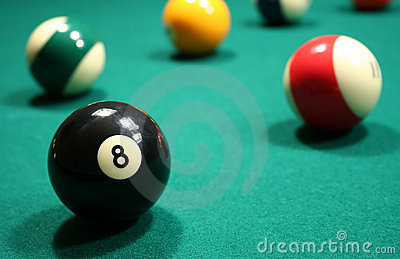 Billiard Balls (American Pool)