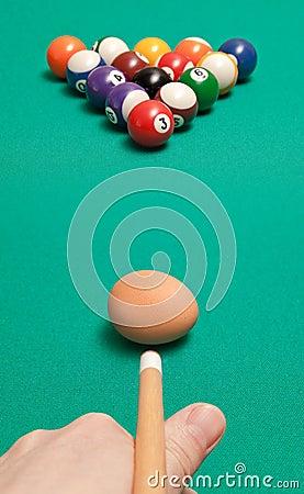 Billiard balls and egg